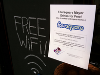 Foursquare mayor offer.1
