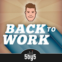 The Back to Work podcast is an easy to listen to business podcast, and they also answer listener's questions!