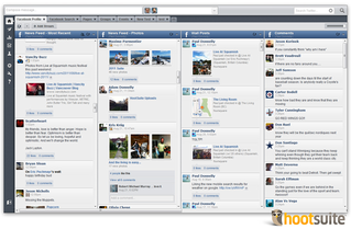Hootsuite gives you the ability to effectively manage an endless selection of social networks from one platform