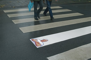 It has increasingly been adopted by large corporations (see, for example, this graffiti ad for Mr. Clean) and is popular in large cities such as New York, Paris, Berlin and London.