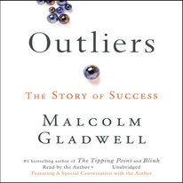 Outliers audiobook cover