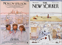 In contrast, in Steinberg v. Columbia Pictures Indus., Inc., a federal court held that the defendant copied not just the ideas in an illustration (a small grid of New York from bird's eye view), but also the plaintiff artist's non-predictable arrangement of those ideas.