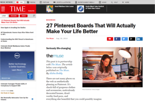 Business.com is one Time Magazine's best Pinterest accounts