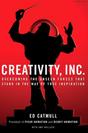 Creativity Inc. by Ed Catmull