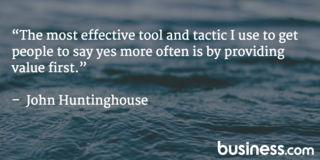 John Huntinghouse quote