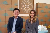 Jessica Alba and Brian Lee