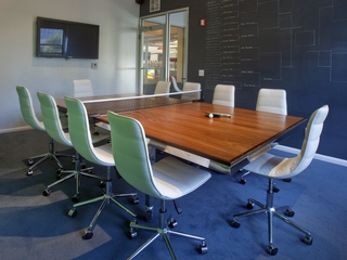 Innovative office designs - How much space for a ping pong table ...