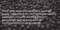 Business valuation tips