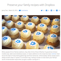 Dropbox for Recipes