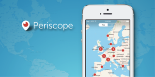 Periscope home page