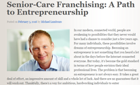 Senior Care Franchising Ad