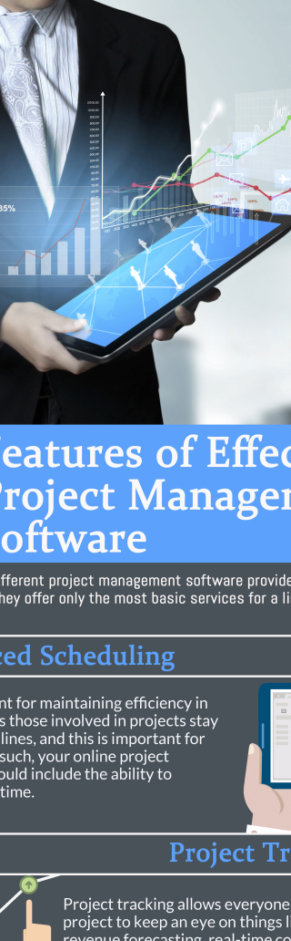 INFOGRAPHIC – 7 Features of Effective Project Management Software