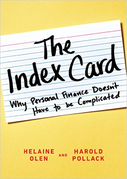 Book Cover: The Index Card: why personal finance doesn't have to be complicated