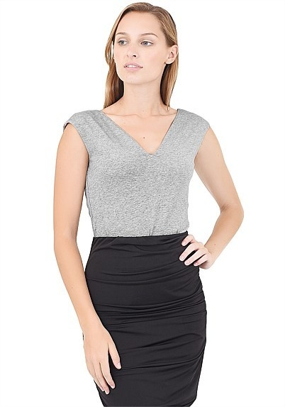 Olivia Sweet Heart Top - Work Wear, Forcast Clothing