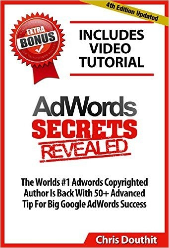 Adwords Secrets Revealed book cover