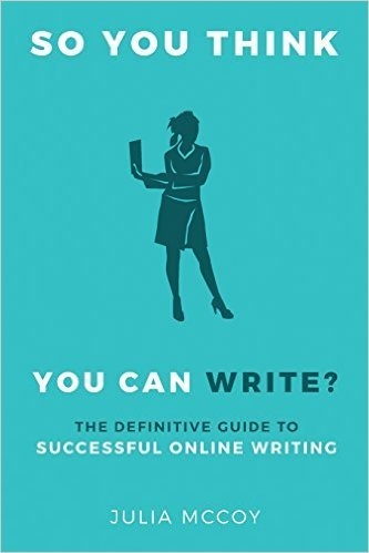 So you think you can write book cover