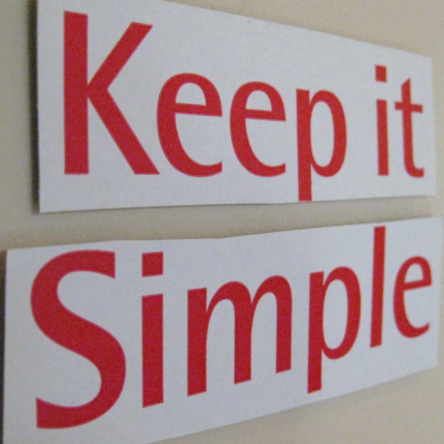 keep it short and simple communication