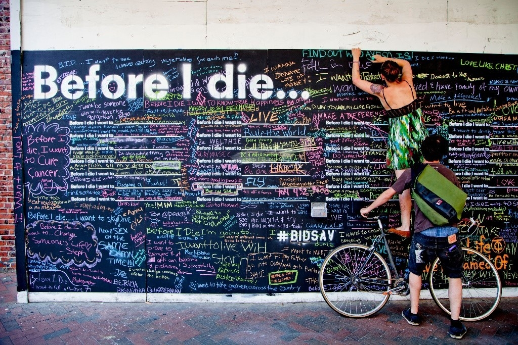 Before I Die Mural Art