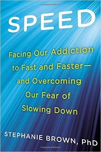 Book cover: Speed. Facing our addition to fast and faster...