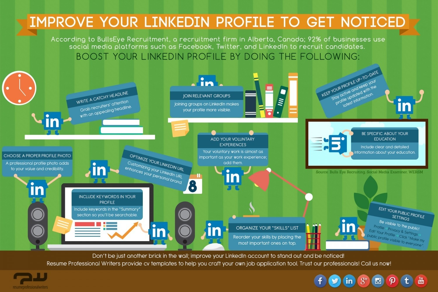 Improve Your LinkedIn Profile to Get Noticed [Infographic]