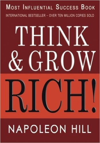 Book cover: Think and Grow Rich!