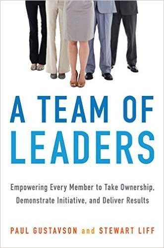 Book cover: A Team of Leaders