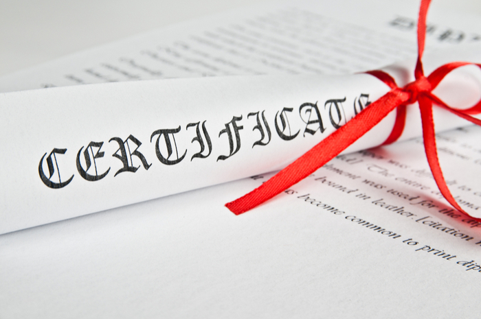 Best Business Certifications of 2018