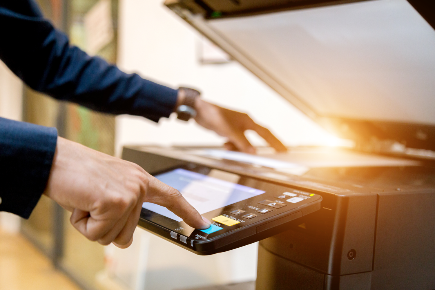 The History of the Photocopier - business.com