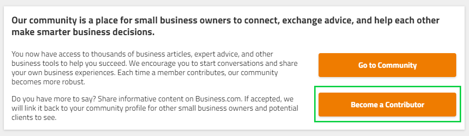 How to Become a business com Contributor